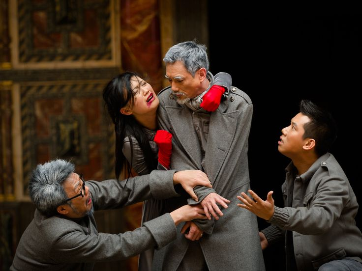 Titus Andronicus performed in Cantonese, by Tang Shu-wing Theatre Studio as part of Globe to Globe, 2012.  (c) Simon Kane