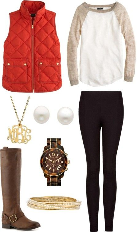 Red vest black trousers combine Clothes Casual Outift for • teens • movies • girls • women •. summer • fall • spring • winter • outfit ideas • dates • school • parties