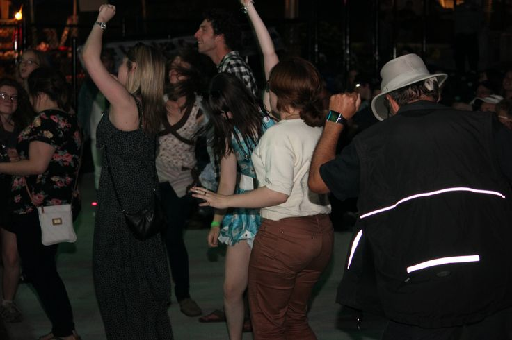 Dancing to music by Sea Perry.