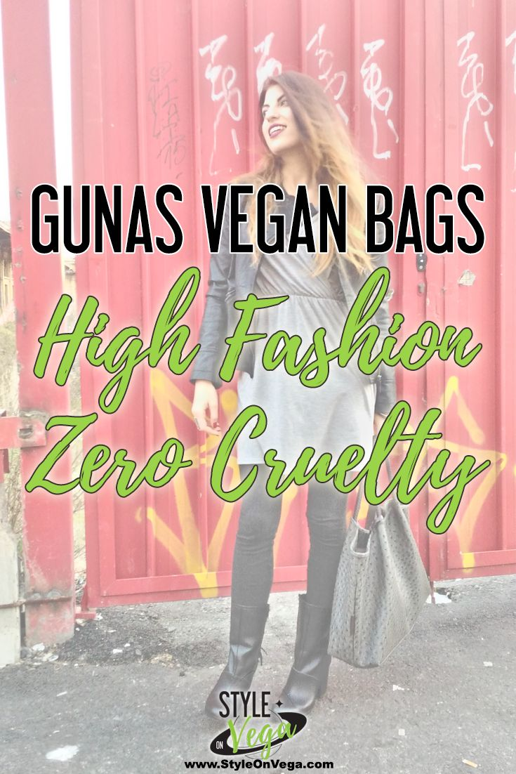 "This brand is the answer to the dreaded question ""Where do I find quality gorgeous cruelty-free handbags?"". Gunas vegan bags are a very good answer to this question: I am experiencing the quality first hand. I think their bags are no less than their real leather equivalent in quality and style: on the contrary, research for better materials and styles is strong in the vegan field. And so is the desire to stop the exploitation of workers in sweatshop factories."