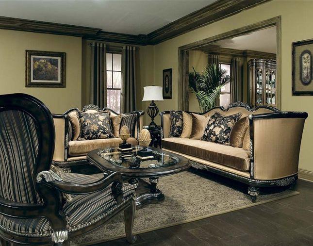 37 best Antique Style Formal Sofa Sets images on Pinterest | Sofa ...