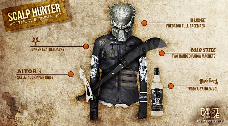 SCALP HUNTER Survival Kit