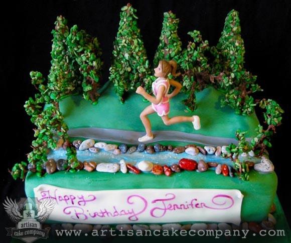 Runners Birthday Cake Cross country Kayla Pinterest ...