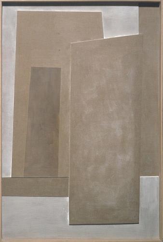 Ben Nicholson - July 1977 (Vertical Landscape), 1977