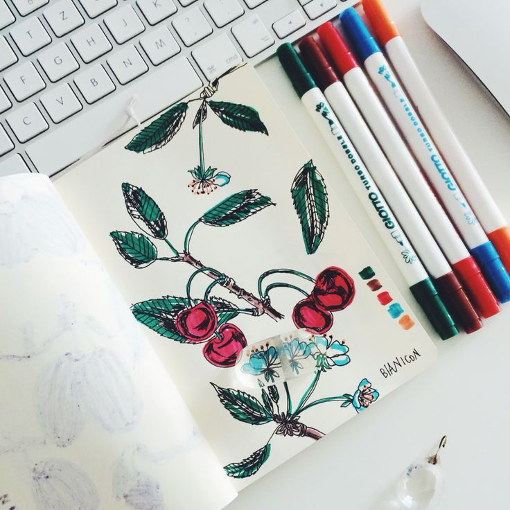 #bianicon #cherrybloom #flower #illustration