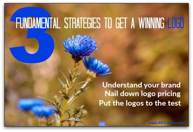 Logo design seems simple. but it's worth the time to do it right. Here are three strategies to help you get the most out of your logo design.