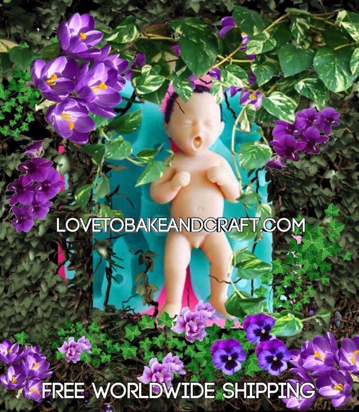 Fairy mold Pixie mold Elf mold Polymer fairy Polymer Pixie Polymer elf Baby fairy mold Baby fairy mould Fairy Doll mold Silicone baby mold Silicone