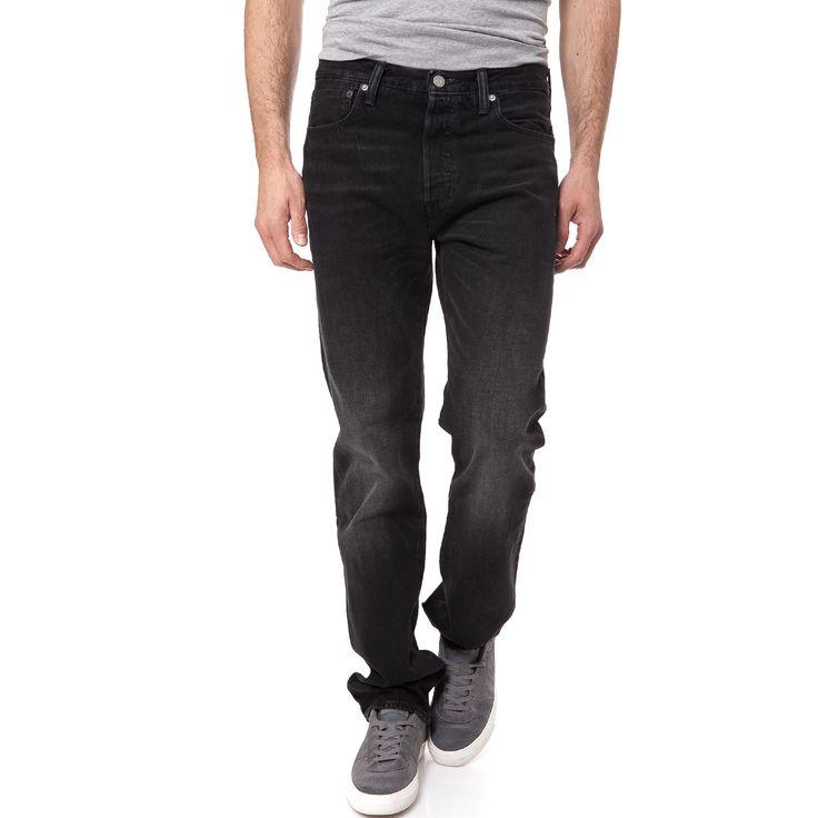 LEVI'S - Ανδρικό τζιν παντελόνι 501 Levi's ORIGINAL FIT μαύρο | παντελονια τζιν ανδρικα προσφορες, προσφορες τζιν, τζιν LEVI'S φθηνα, τζιν παντελονια ανδρικα LEVI'S