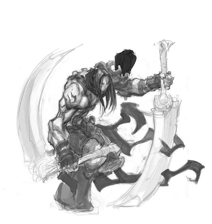 Darksiders character design by Joe Madureira