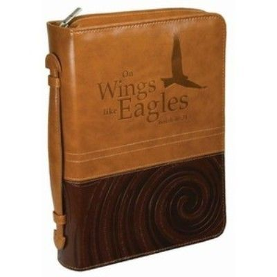 "[""These+stylish+Bible+covers+feature+heat-debossed+text+and+a+pen+loop.Large:+6+5\/8\""+x+9+1\/2\""+x+2\""""] $19.99"