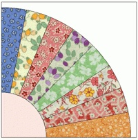 grandmothers' fan quilt pattern