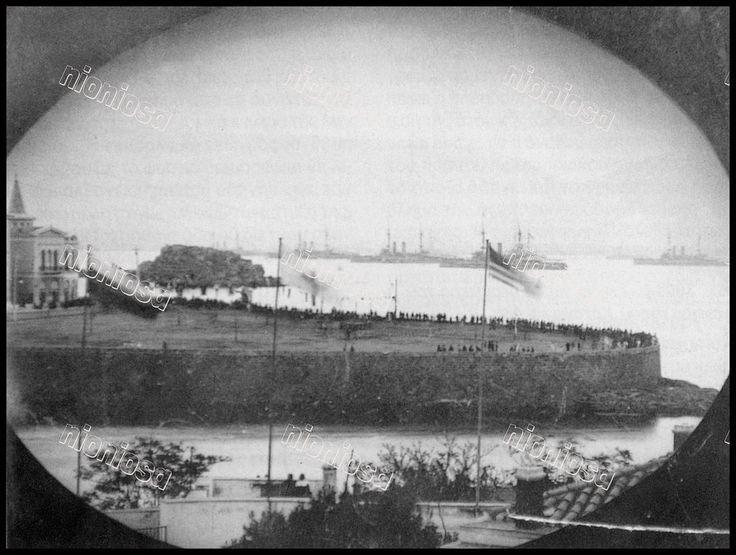 Σπάνια φωτογραφία της Πλατείας Αλεξάνδρας στα τέλη του 19ου αιώνα.