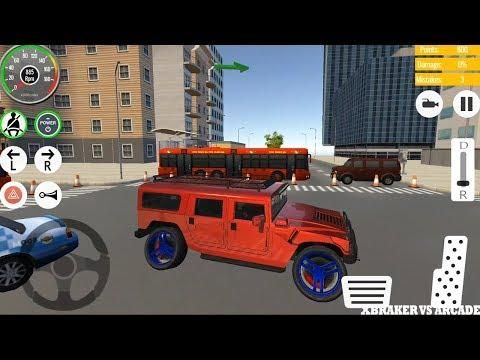 Arcade Driving School >> Car Driving School 2019 Real Parking Sim Huge Jeep Red Color