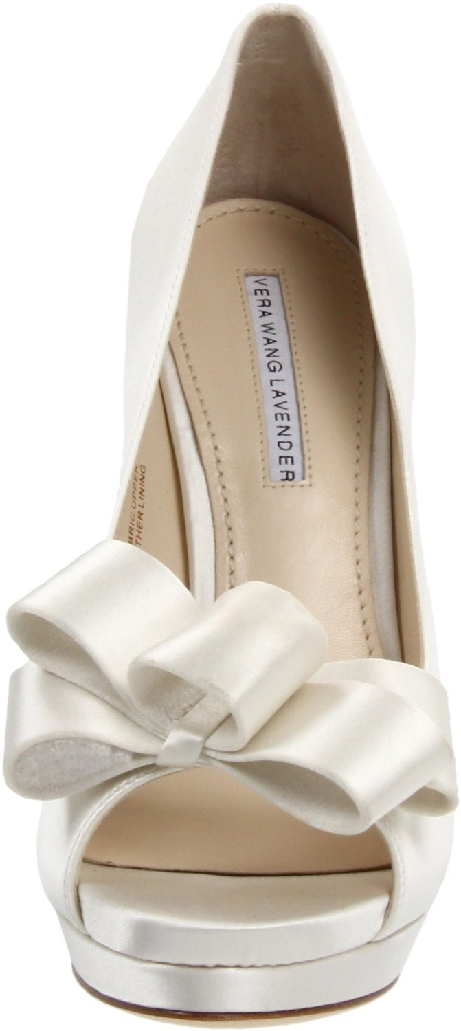Vera Wang. Wedding shoes? Does it come in BLUE!?