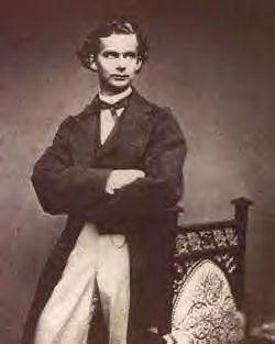 King Ludwig II of Bavaria - Ludwig II was born 25 August 1845 in Schloss Nymphenburg. He was King of Bavaria 1864–1886. It was on June 12, 1886 the King was declared insane & taken away from his favorite castle by a commission from Munich. Ludwig II was interned in Berg Palace. The next day he died in mysterious circumstances in Lake Starnberg, together with the psychiatrist who had certified him as insane.