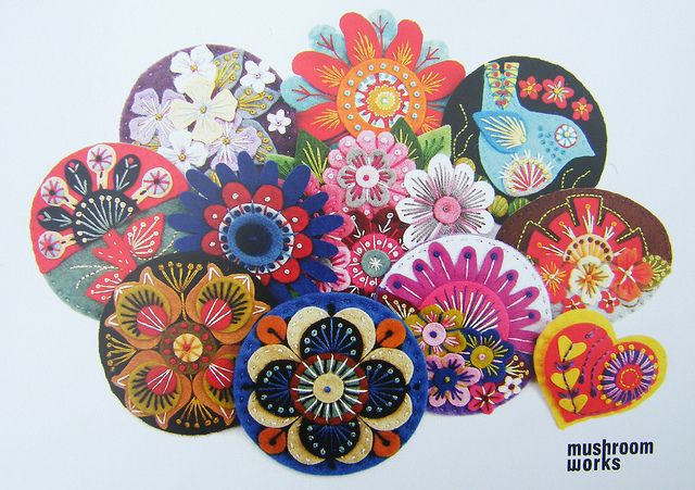 INVITATION FOR MY EXHIBITION AT MUSHROOM WORKS GALLERY 10TH APRIL - 1ST MAY 2010 by APPLIQUE-designedbyjane, via Flickr