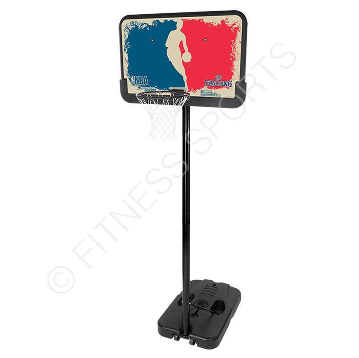 Spalding NBA Logo Man basketball system 8ft-10ft