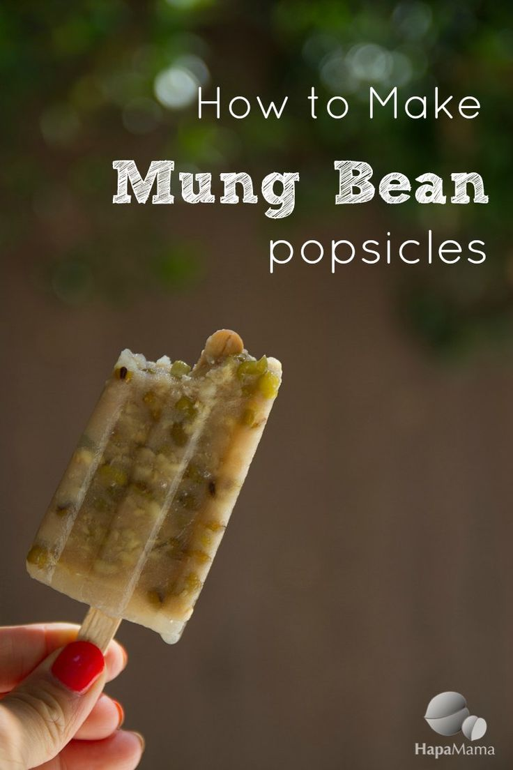 Chinese Sweet Mung Bean Popsicles Recipe — Dishmaps
