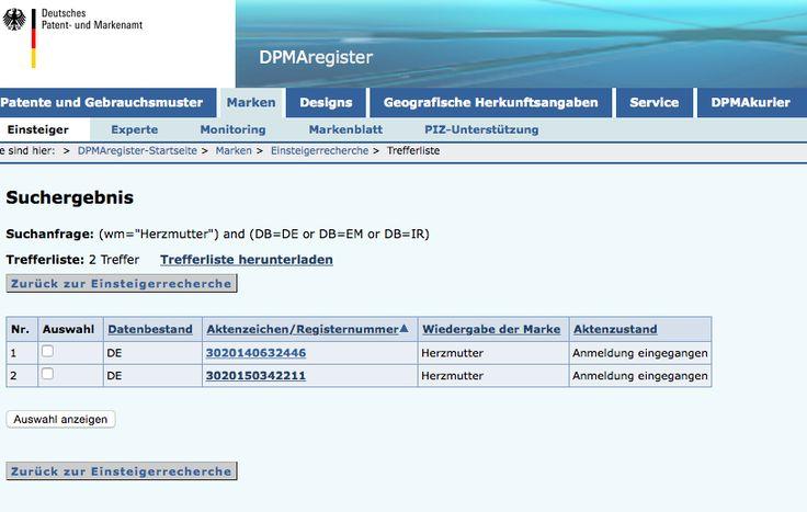 Patentamt und Wortmarke: so schützt du deinen Blog-Namen - 2KindChaos - Eltern Blogazin