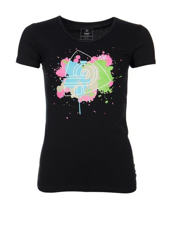 Women's T-shirt KILPI - MURAYA - black