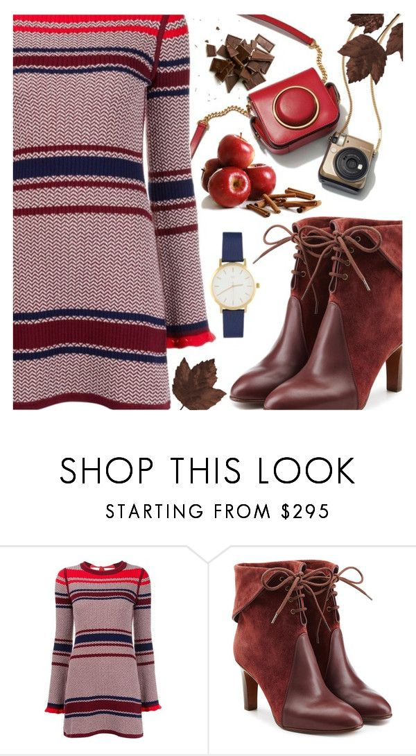 """Sweater Dress"" by ana3blue on Polyvore featuring Misha Nonoo and Chloé"