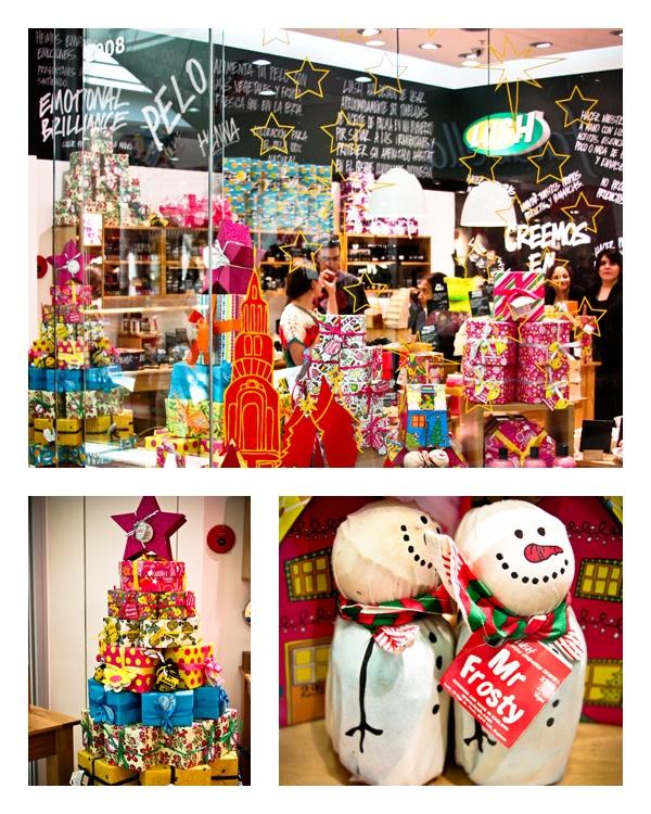 Lush, local 2008, segundo nivel. #NavidadAlto