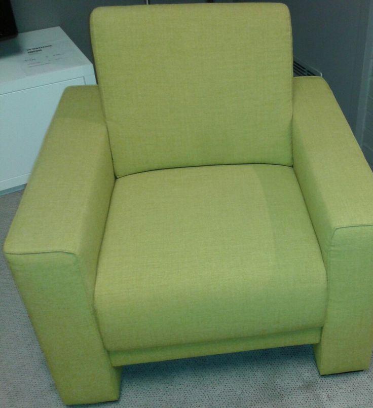 Mooi wonen is genieten! Gezellige stoel in gele stof vanmiddag verkocht & meteen vanavond bezorgd!