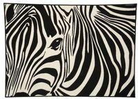 Matta Zebra 133x185 cm Polyamid - Rumsmattor - Rusta