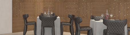 Maderal natural y critales de Swarovski. Una manera original y diferente de decorar tus espacios. Colección: Luxe