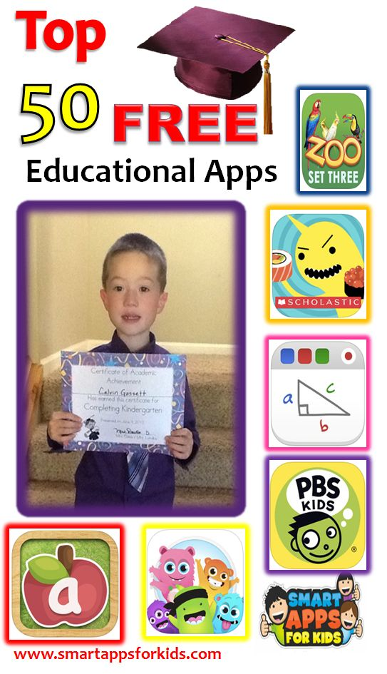 Top 50 Completely FREE apps — Kids Category! May…