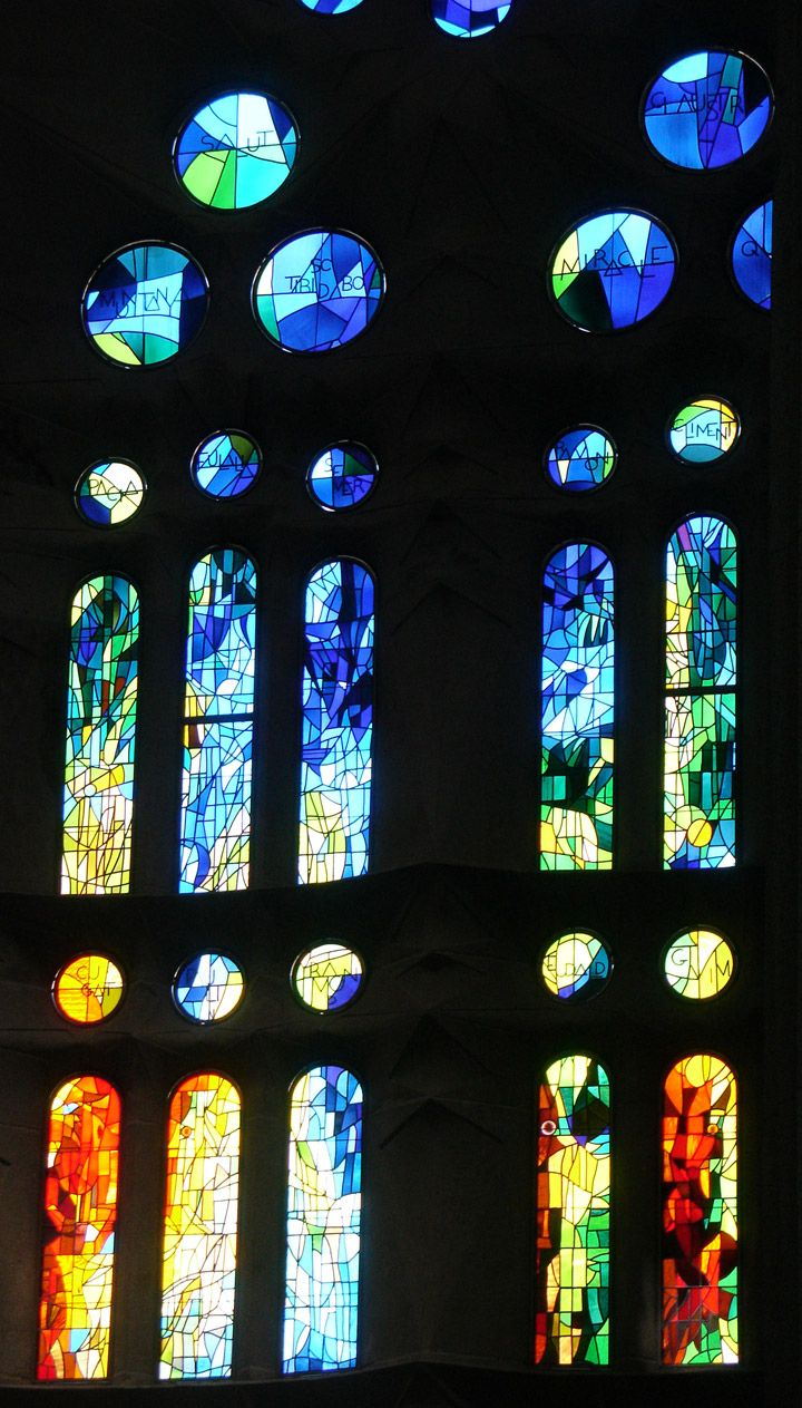 Franklin art glass studios inc clear cotswold glass 3 320 - Sagrada Fam Lia Stained Glass Windows Barcelona Spain