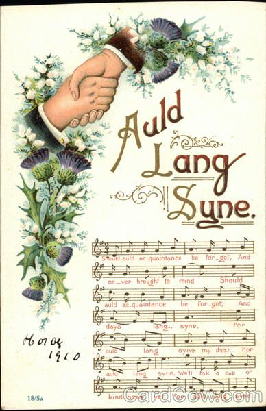 Auld Lang Syne Songs & Lyrics * For free Christmas toys Arielle Gabriels The International Society of Paper Dolls also free China and Japan toys The China Adventures of Arielle Gabriel *