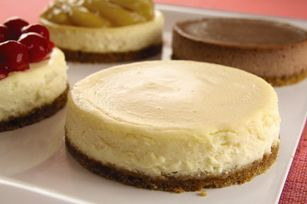 Mix 'n Match Mini Cheesecakes Recipe - @Kraft Recipes -- Variations for Traditional, Apple Pie, S'more, Chocolate Chunk/Chip, Citrus, Cookies & Cream, Peanut Butter, Mocha, Chocolate Royale, New York style, and Cherry - all with ONE recipe! Amazing!!