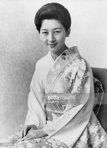 Princess Michiko of Japan, wife of Crown Prince Akihito.