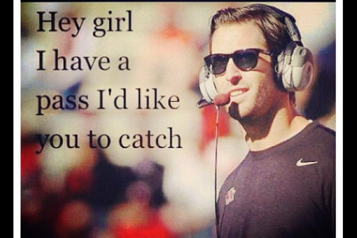 Kliff Kingsbury hey girl