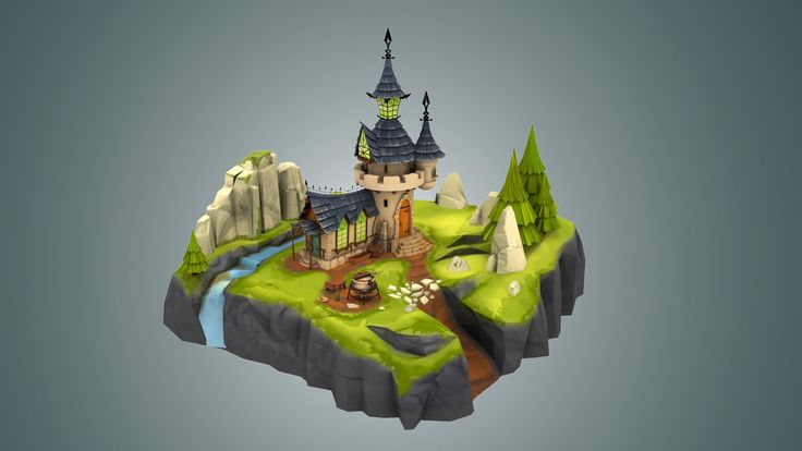 ArtStation - Stylized Castle Environments, Vlada Voronova