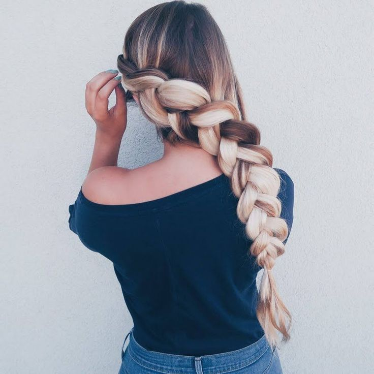 Sarah N pans out her dutch braid for a stylish finish. Bag the hair essentials featured here to DIY.