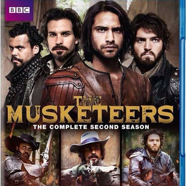 The Musketeers - New cover art for series II DVD!