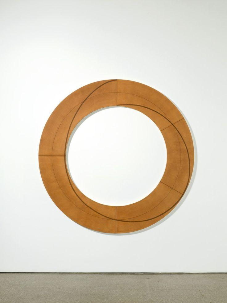 Robert Mangold . ring image, 2009