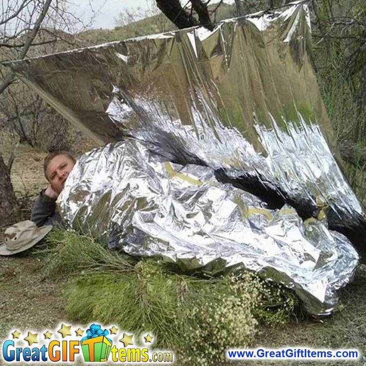 Waterproof Silver Foil Thermal Emergency Survival Blanket