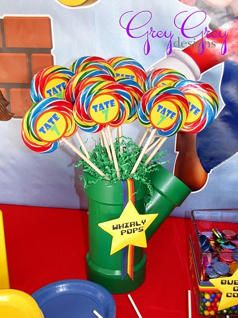 mario party - green tubes! Perfect!