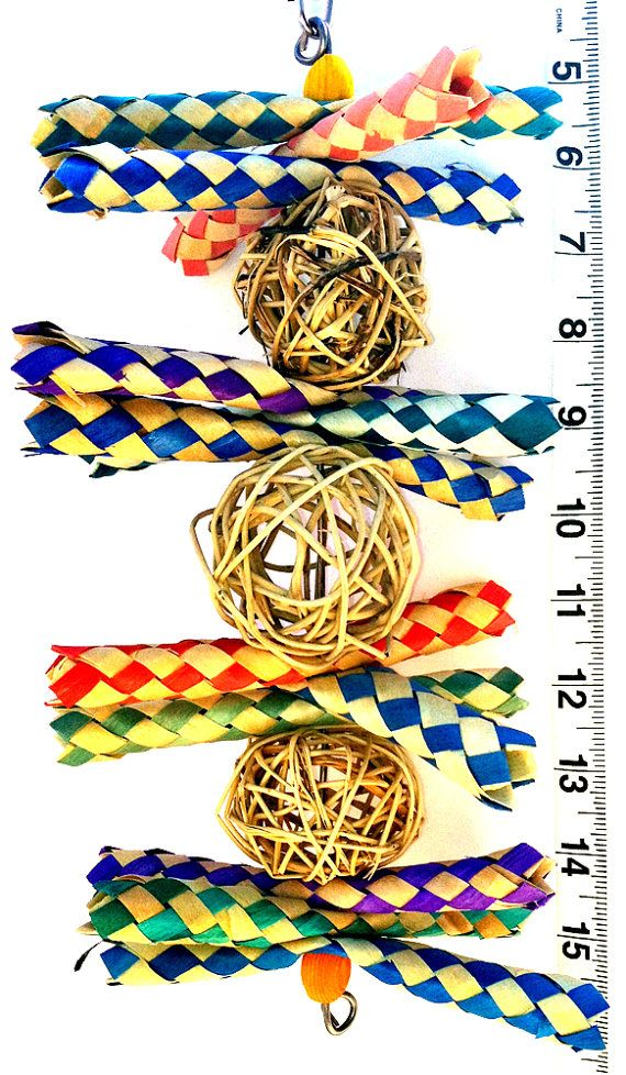 Trap Stack  Bird Toys for Pet Parrots by A Bird Toy by abirdtoy, $4.95