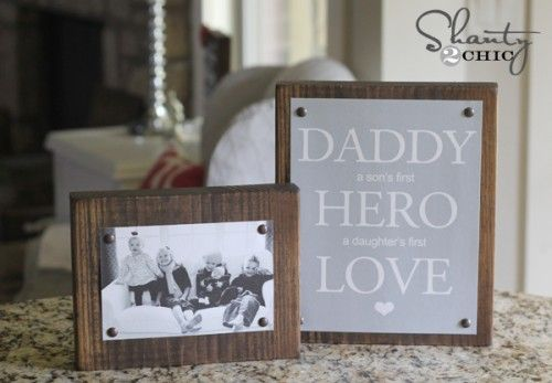 Father's Day gift and free printables