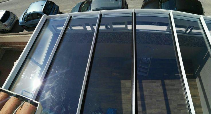 Techo fijo ESPALUZ con vidrio protección solar