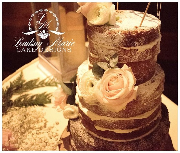 88 best Naked/Semi-Naked Wedding Cakes images on Pinterest