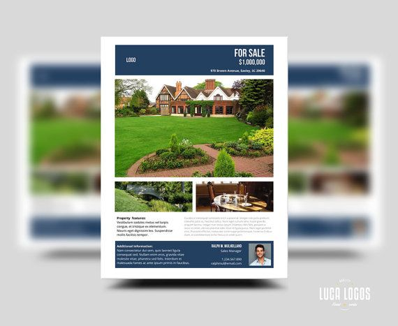 64 best REAL ESTATE - THE ARTFUL BUSINESS OF BUYING \ SELLING - home sale flyer template