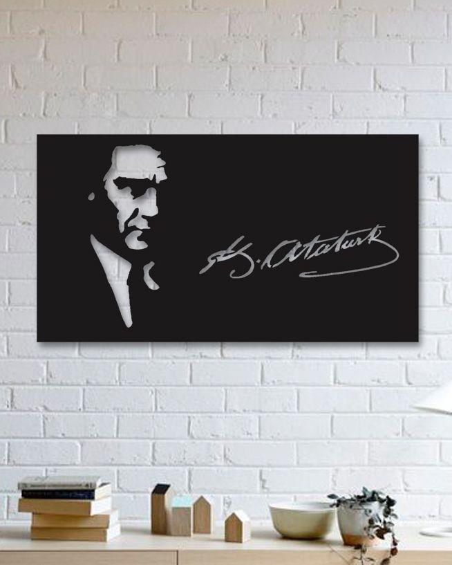 Atatürk Metal Plaka