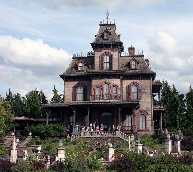 16 Best Disneyland Haunted Mansion Replica Images On