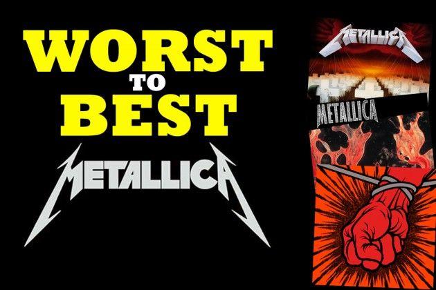 Metallica Albums, Ranked Worst to Best