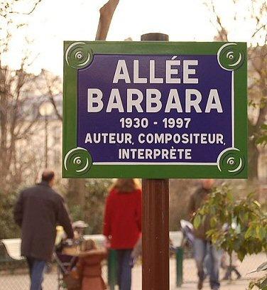 L'allée Barbara  (Paris 17ème)